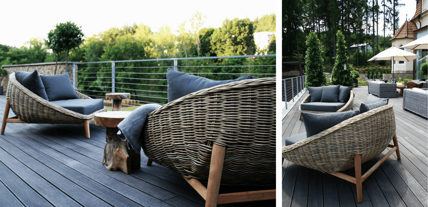 Daybed Rotan
