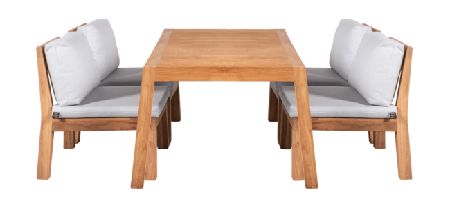 Low Dining Set Eettafel