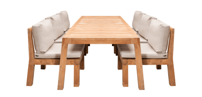 Low Dining Lange Tafel